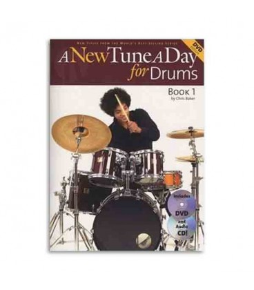 A New Tune a Day for Drums Book CD DVD
