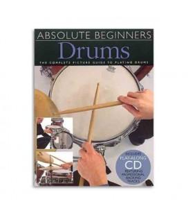 Absolute Beginners Drums Book CD