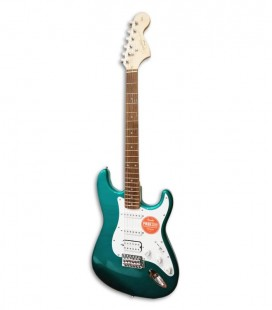 Electric Guitar Fender Squier Affinity Stratocaster HSS IL Race Green