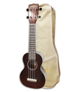 Photo of ukulele Gretsch Soprano G9100 with bag