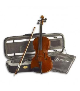 "Stentor Viola Conservatoire 15"" with Bow and Case"