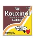 Rouxinol Mandolin String Set R40 8 Strings with Loop End