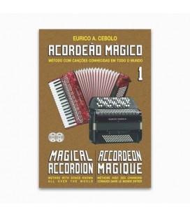 Eurico Cebolo Book M辿todo Acorde達o M叩gico n尊 1 with CD Kit ACM 1