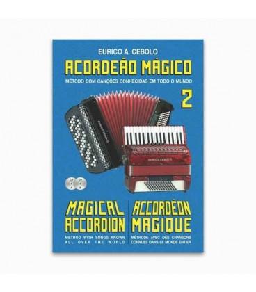 Eurico Cebolo Book M辿todo Acorde達o M叩gico n尊 2 with CD Kit ACM 2