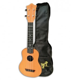 Ukulele Mahilele ML3 ORG Soprano Orange with Bag