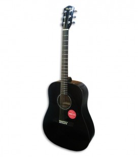 Folk Guitar Fender Dreadnought CD 60S Black