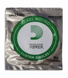 Individual String Daddário NW050 for Electric Guitar Nickel Wound