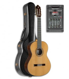 Alhambra Classical Guitar 9P E2 Preamp Cedar Indian Rosewood with Hard Case