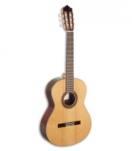 Photo Paco Castillo Classical Guitar 203 model front and three quarters