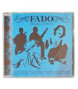Photo of the cover of the CD Fado nas Grandes Vozes edited by Sevenmuses