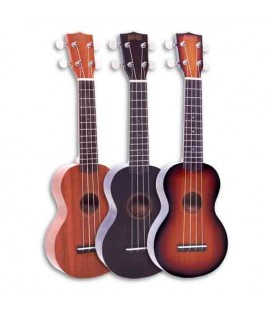 Mahalo Ukulele MJ1 Soprano Java with Bag