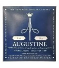Photo of the cover of the package of the String Set Augustine Imperial Blue for Classical Guitar