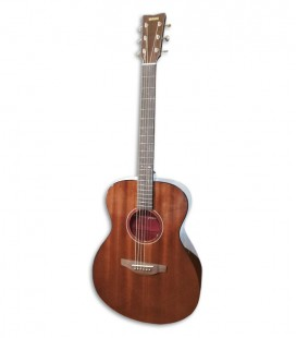 Photo of the Folk Guitar Yamaha model Storia III color Chocolate Brown front and three quarters