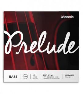 String Set DAddario  J610 Prelude Double Bass 1/2