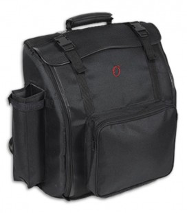 Image of the Bag Ortol叩 model 0139 for Accordion of 120 Keys front and in three quarters