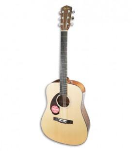 Acoustic Guitar Fender CD 60S LH Dreadnought Natural WN