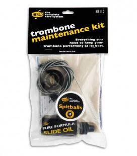 Photo of the Care Kit Dunlop Hercos model HE110 Trombone