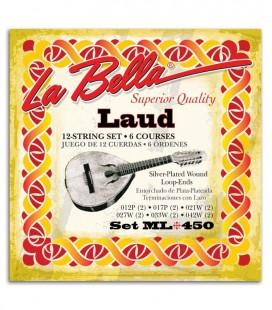 String Set LaBella 2001 for Classical Guitar Medium High Tension
