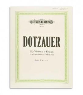 Dotzauer 113 Exercises for Cello Vol 1 N尊 1-34 Peters