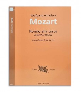 Photo of the cover of the Book Mozart Rondo Alla Turca N414