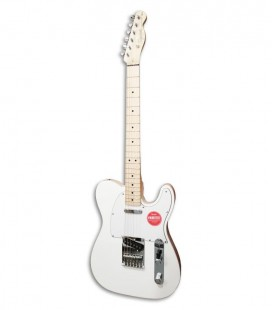 Photo of the Electric Guitar Fender Squier model Affinity Telecaster in color Artic White