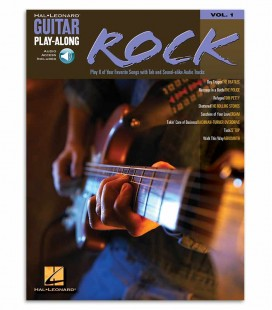 Photo of the cover of the Book Guitar Play Along Rock Vol 1 Book/CD HL00699570