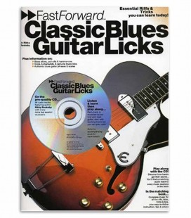 Photo of the cover of the Book Fast Forward Classic Blues Guitar Licks MUSAM92451