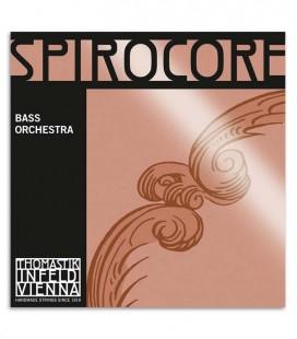 Thomastik Double Bass String Set Spirocore Orchestra 4/4