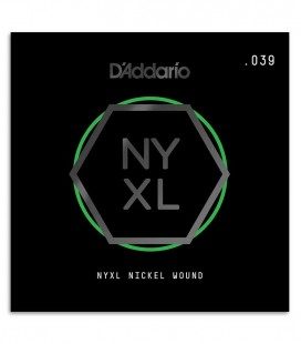 Strings DAddario NYNW039 Electric or acoustic guitar Nickel Wound