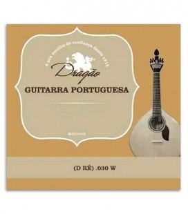 Drag達o Coimbra Portuguese Guitar Individual String 875 030 3rd D Bass