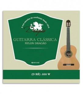 Drag達o String Viola 829 Nylon 032 4th D