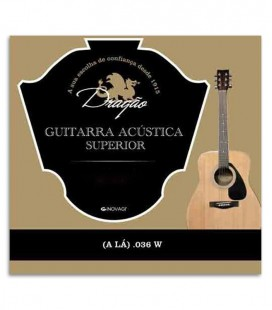 Drag達o Viola String 823 Superior 036 5th A Bass with Silk and Button