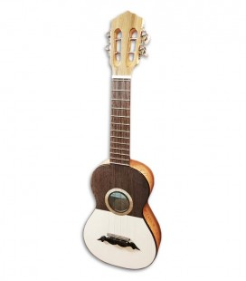 Artimúsica Cavaquinho CV12C Simple Round Sound Hole with Half Tops Machine Heads
