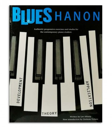 Photo of the Blues Hanon Piano Blues book cover