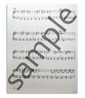 Photo of a Blues Hanon Piano Blues book sample