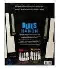 Photo of the Blues Hanon Piano Blues book backcover