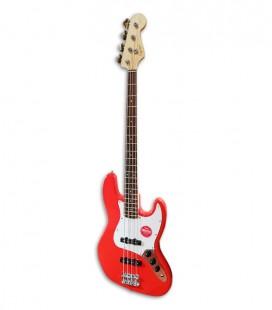 Bass Guitar Fender Squier Affinity Jazz Bass LRL RCR