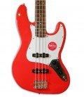 Photo of the Bass Guitar Fender Squier Affinity Jazz Bass LRL RCR body