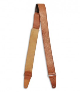 Photo of the Strap Fender Tooled Leather