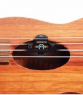 Photo of the Tuner DAddario  PW CT 22 fitted in an ukulele soundhole