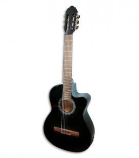 Photo of the Classical Guitar VGS Student Black with Pickup