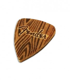 Photo of the Pick Fender for Ukulele in Felt with a hand