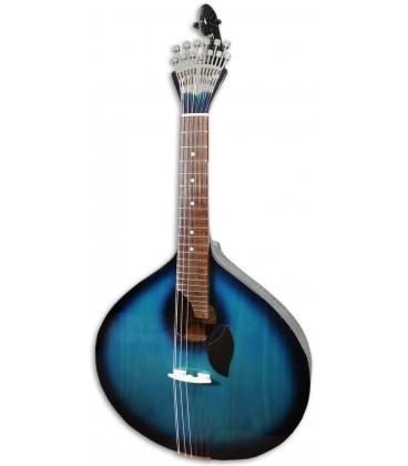 Photo of the Portuguese Guitar Artimúsica GPBBL Lisbon Model Blueburst Base Linden Top Acacia Bottom