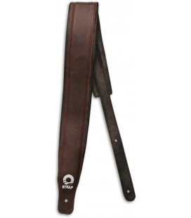 Photo of the Guitar Strap Leather Padded ST1L