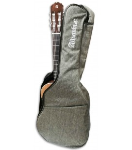 Photo of the Gig Bag Alhambra 9730 with a Classical Guitar