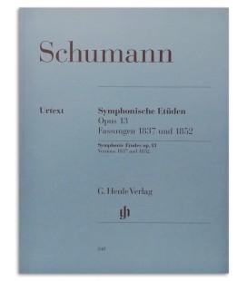 Photo of the Schumann Symphonische Etuden Op 13 book cover