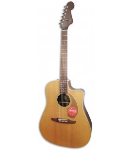 Eletroacoustic Guitar Fender Redondo Player Natural