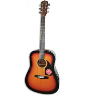 Acoustic Guitar Fender Dreadnought CD 60 V3 DS Sunburst Walnut