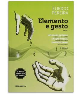 Photo of the Guitar Method Elemento e Gesto Eurico Pereira 2nd Edition cover