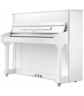 Upright Piano Ritmuller AEU118S WH Classic 118cm White Polish 3 Pedals
